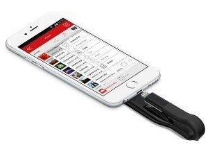 Emtec iCOBRA2 T500BL Lightning USB Flash Memory 64GB