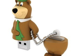 Kodak Yogi Bear HB104 USB Flash Memory 8GB