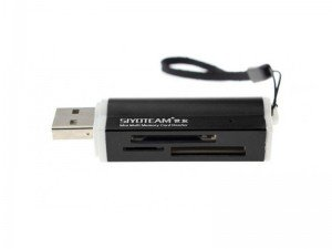 دستگاه کارت خوان Siyoteam Memory Card Reader/Writer USB All in One SY-662