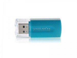 دستگاه کارت خوان Siyoteam Memory Card Reader/Writer USB All in One SY-596