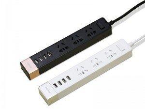 چند راهی و شارژر ریمکس Remax Power Socket & USB RU S2