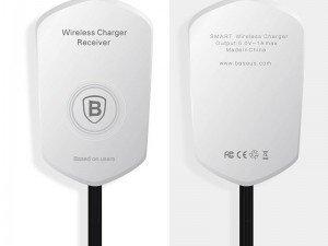 گیرنده شارژر بی سیم لایتنینگ بیسوس Baseus QI Wireless Charging Receive
