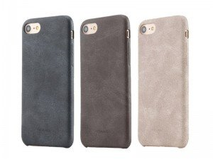 قاب محافظ چرمی Usams Protective Shell PU leather For Apple iPhone 7