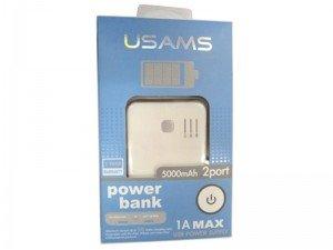 پاور بانک یوسامس USAMS power bank 5000mAh