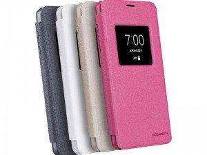 کیف محافظ چرمی نیلکین Nillkin Sparkle Leather Case For LG G6