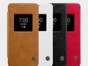 کیف محافظ چرمی نیلکین Nillkin Qin Leather Case For LG G6