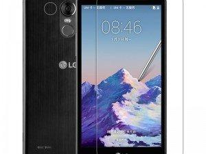 محافظ صفحه نمایش شفاف نیلکین Nillkin Super Clear Screen Protector For LG Stylus 3 M400DK