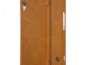 کیف محافظ چرمی نیلکین Nillkin Qin Leather Case For Sony Xperia XA1