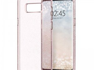 محافظ ژله ای اسپیگن Spigen Liquid Crystal Glitter Case For Galaxy S8 Plus