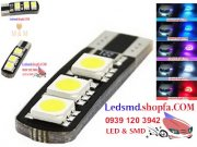 T10 5050 6 SMD-5 Colours