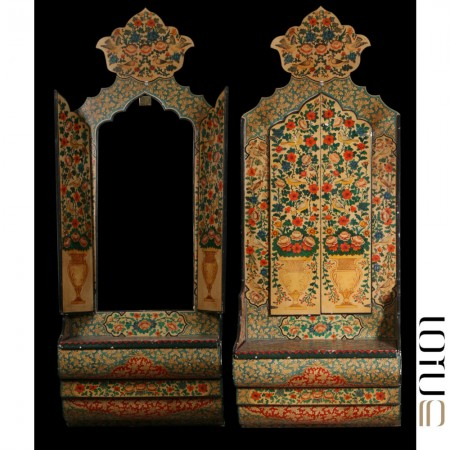 میز آینه مربوط به اوایل قاجار