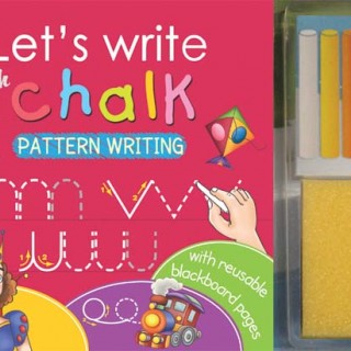 Let's write with chalk - Pattern writing