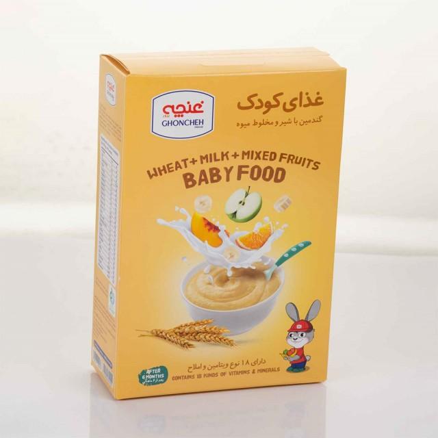 غذای کودک گندمین میوه ای 300گرمی