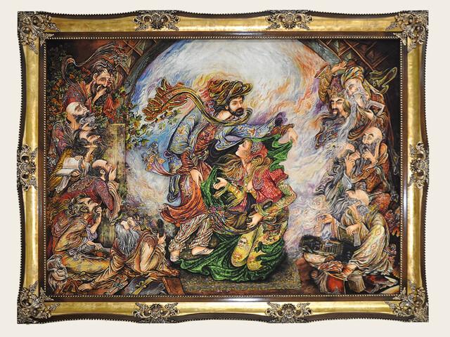 تابلو فرش معجزه یوسف