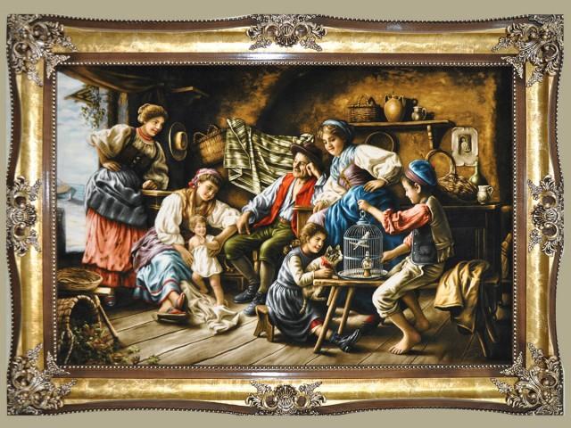 تابلو فرش کانون خانواده