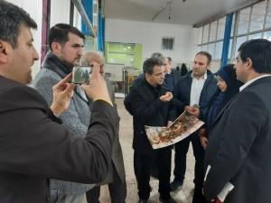 گزارش وب سایت  گلچه فرش از کارگاه تولیدی تابلو فرش مجیدی