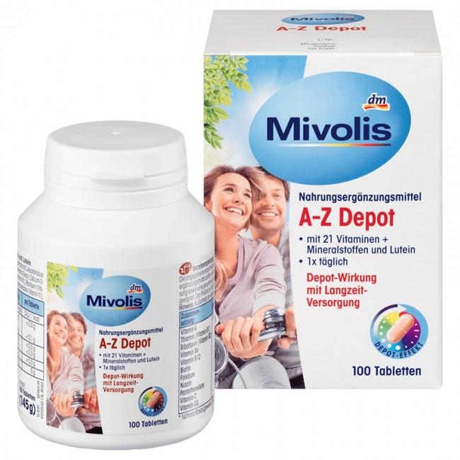 قرص مولتی ویتامین موولیس  (100 عددی)