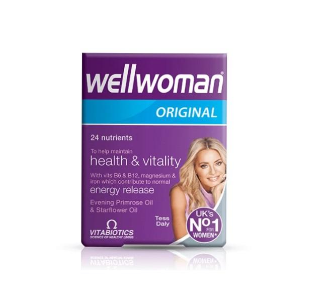 قرص ویتامین بانوان wellwoman ولومن (30 عددی)