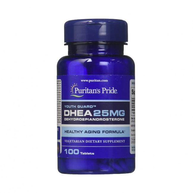قرص DHEA پوریتان پراید 25mg (100 عددی)