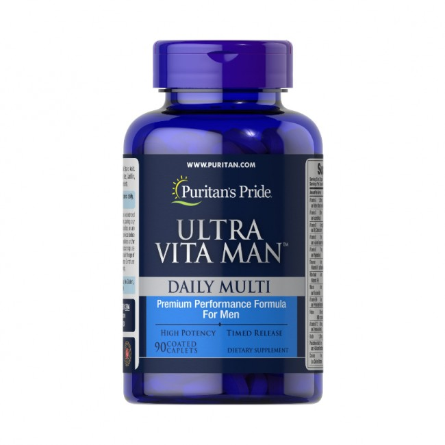 قرص الترا ویتامین مردان پوریتان پراید (90 عددی)