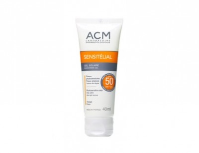 ژل ضد آفتاب 50 سن سی تلیال پوست چرب ای سی ام (40 میل)