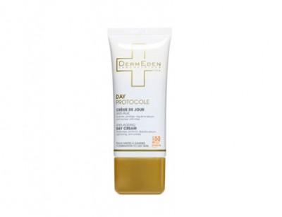 کرم روز پوست چرب SPF50 (دی پروتوکل) (50 میل)