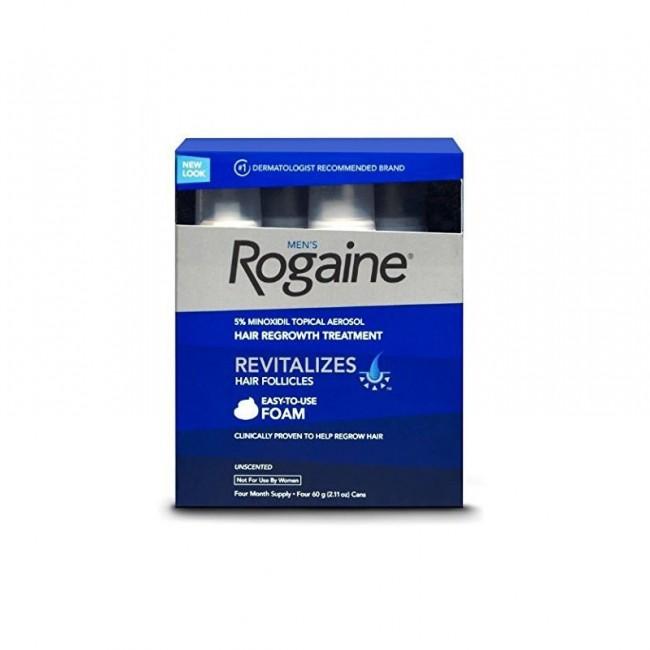 روگين فوم ضد ريزش موي  5 درصد (4 عددی)