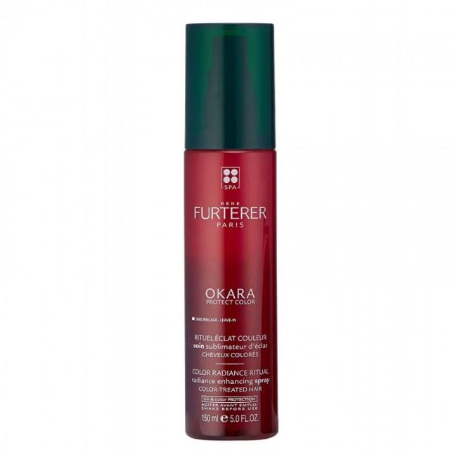 رنه فورترر اسپری درخشان کننده مو ی رنگ شده اوکارا پروتکت کالر (150 میل)