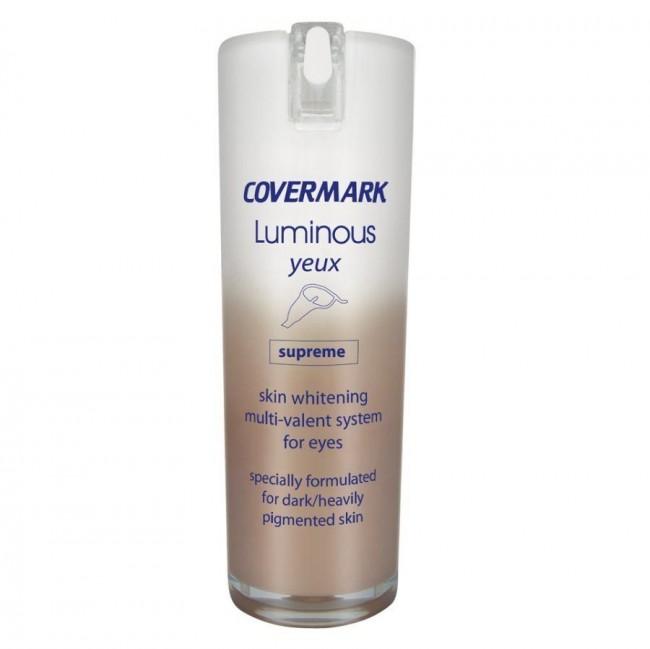 کرم ژل روشن کننده دورچشم قوی لومینوس کاورمارک (15 میل)