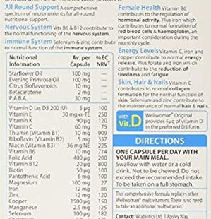 قرص ویتامین بانوان ولمن (30 عددی)
