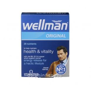قرص ویتامین آقایان wellman ولمن (30 عددی)