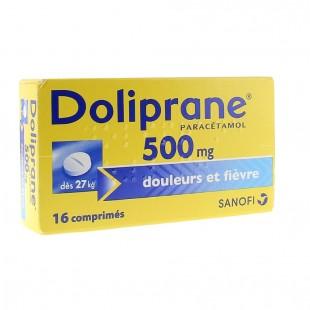 قرص سرماخوردگی DOLIPRANE دلیپران (16 عددی)