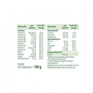 قرص مولتی ویتامین آلتافارما A-Z Depot (100 عددی)