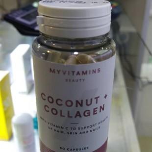 کپسول کلاژن و نارگیل مای ویتامینز (60 عددی)