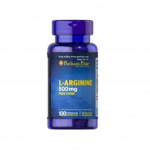 قرص آرژنین arginine 500 Mg پوریتان پراید (100 عددی)
