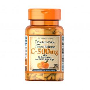 قرص ویتامین C-500 پوریتان پراید (100 عددی)