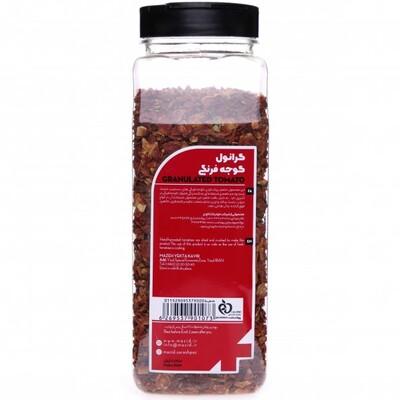 گوجه فرنگی خشک شده با رنگ قرمز طبیعی