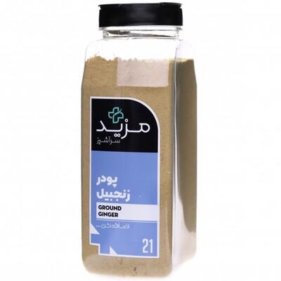 پودر زنجبیل ادویه گرم ومقوی با عطر و طعمی قوی در غذا و خوراکی و چای و دمنوش