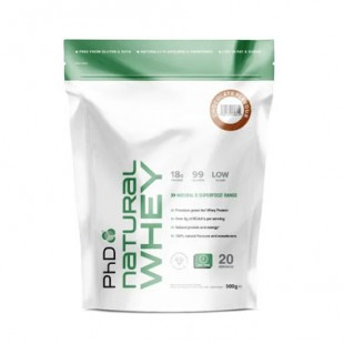 natural whey  phd