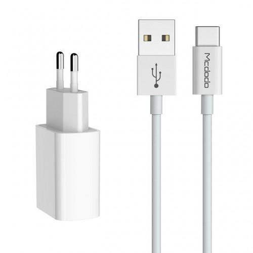 شارژر 2 پورت بهمراه کابل USB-C مک دودو CH-6721