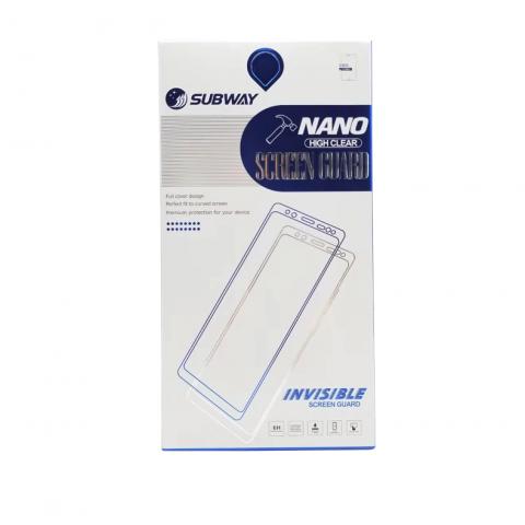 محافظ صفحه نانو برند SUBWAY مناسب برای موبایل آیفون