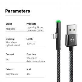 کابل تبدیل USB به لایتنینگ مک دودو مدل CA-6270 طول 1.2 متر