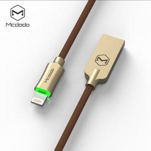 کابل هوشمند تبدیل USB به لایتنینگ برند مک دودو مدل CA-390 طول 1.2 متر
