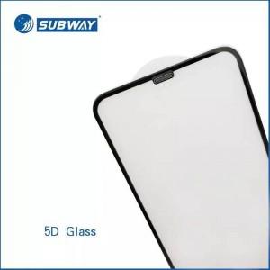 محافظ صفحه نمایش شیشه ای آیفون بهمراه گردگیر اسپیکر