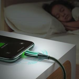 کابل هوشمند تبدیل USB به لایتنینگ مک دودو مدل CA-8060 طول 1.2 متر