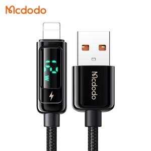 کابل تبدیل USB به لایتنینگ مک دودو مدل CA-9940 بهمراه نمایشگر دیجیتال