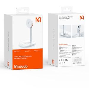 پایه نگهدارنده موبایل مک دودو بهمراه قابلیت شارژ بیسیم آیفون و ایرپاد مدل CH-7340