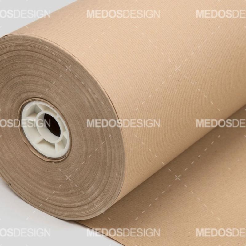 رول کاغذ کرافت عرض 25 سانتیمتر