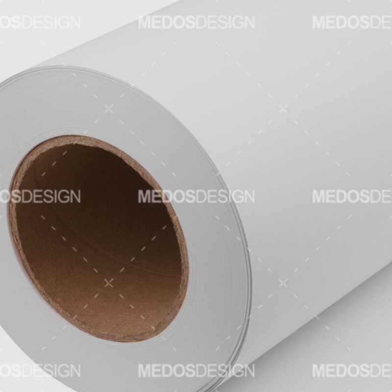 رول کاغذ سفید عرض 25 سانتیمتر