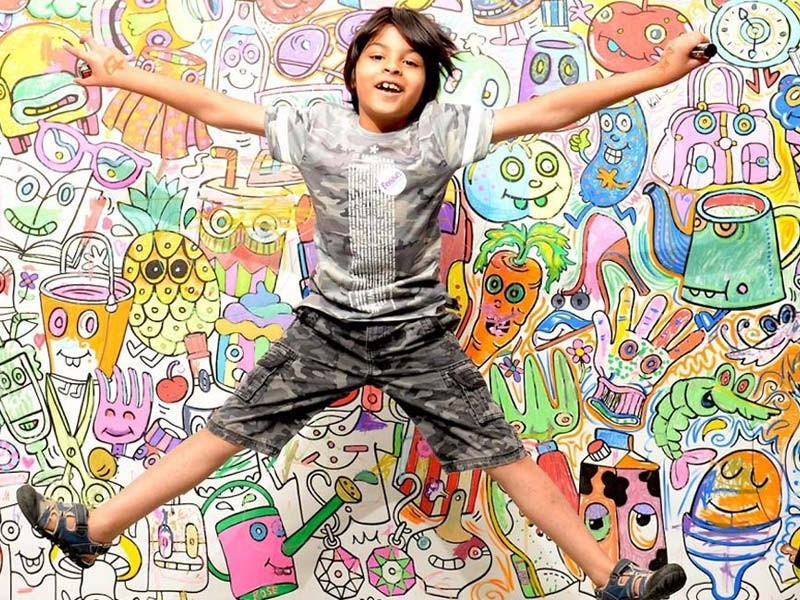 با آثار هنری فرزندمان چه کنیم؟